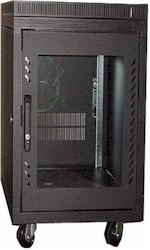 "15U Cabinet, 23.5x31.5x36""(h), black only, 165 lbs"