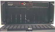 5U Rackmount, 10(or 12) bays, 3 fans, case only, 14 or 20-slot window available!