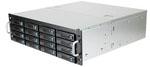 3U, JBOD, 16 x SATA/SAS, 6Gb/s, 500W redundant PS, 1 x Expander